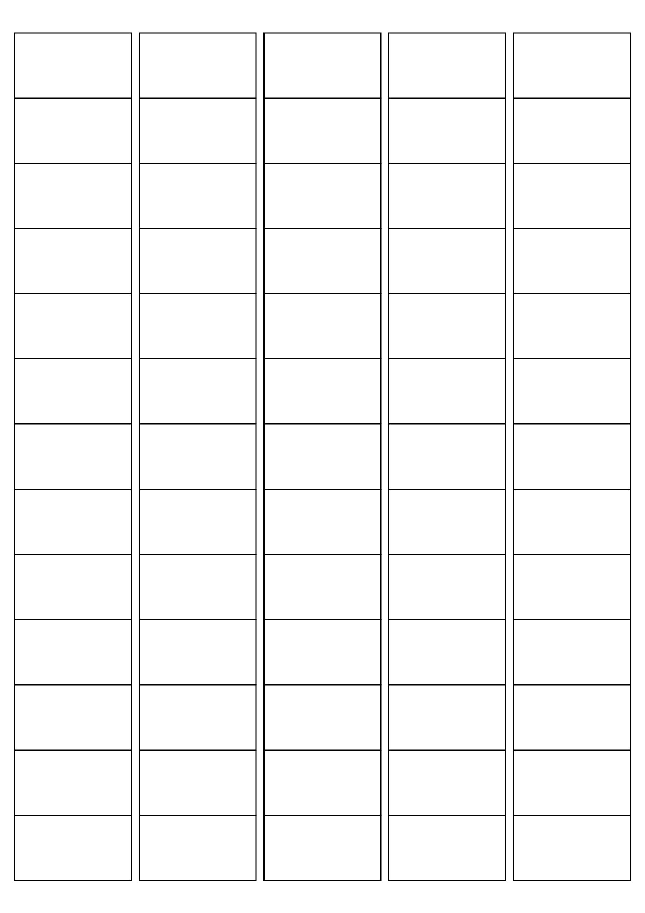 Mr117 65 Rectangular Square Corners 381 X 212 Mm A4 Sheet